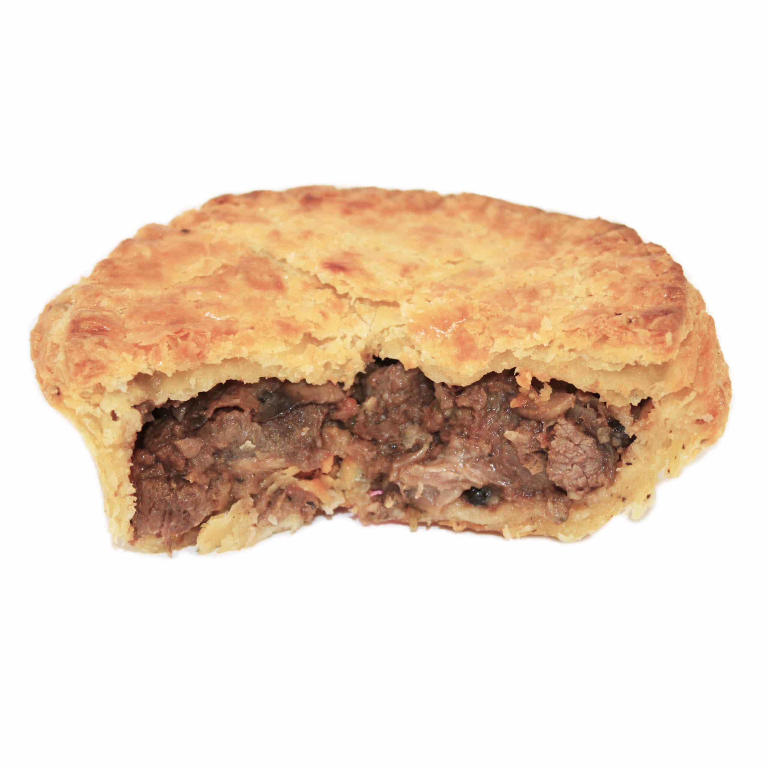 Shirl's Pepper Steak Pie - Crafty Pies