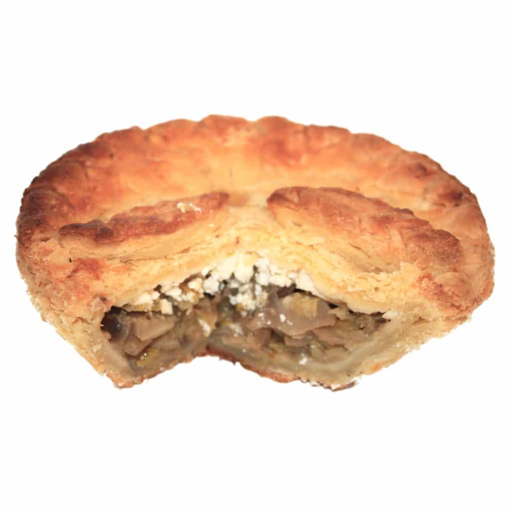 Leek, Mushroom & Feta Pie